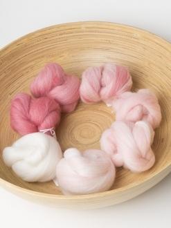 Simple White to Pink Gradient Set (Batt 180496)