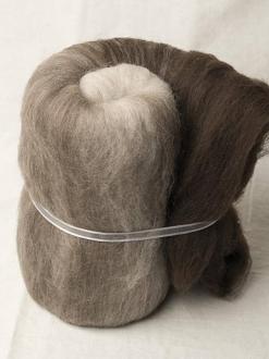 Super Soft Natural Merino Large Gradient Batt (170097)