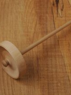 Hand Turned Spindle (BW-2)