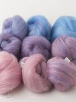 Scrumptious Pink-Purple-Blue Gradient Set (190683)