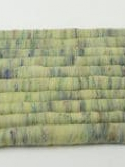 Vibrant Green Rolag Set with Sari Silk (Batt 200885)
