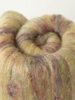 Delicious Large Textured Yellow Batt  (Batt 200899)