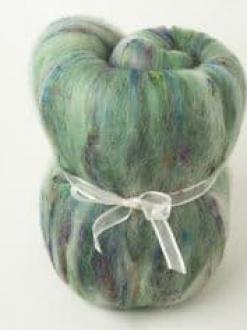 Rich Green Textured Large Batt  (Batt 200901)