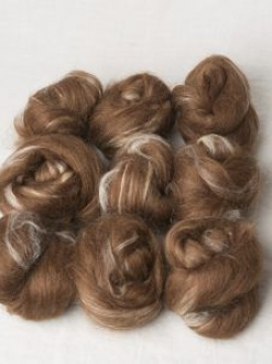 Caramel Alpaca Silk and Cashmere Battling Set (180362)