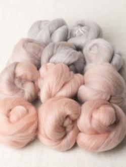 Elegant Pink to Grey Gradient Set (180406)