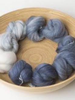 Gorgeous White to Blue Gradient Set (Batt #180484)