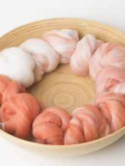 Gorgeous White to Orange Gradient Set (Batt 180492)