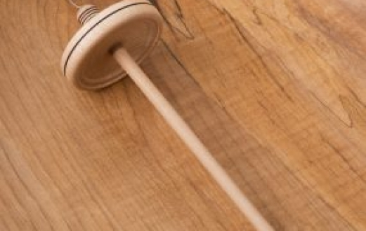 Hand Turned Spindle (TW-7)