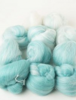 Delicious White-Teal Gradient Set (190752)