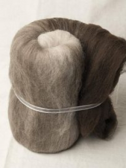 Super Soft Natural Merino Large Gradient Batt (170097)