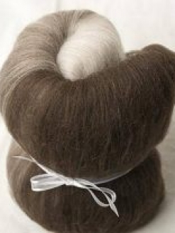 Natural Merino Mini Gradient Batt (170112)