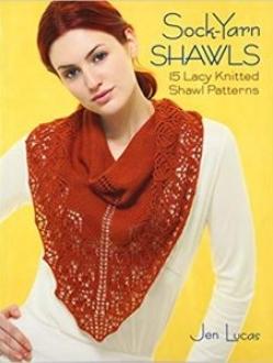 Sock Yarn Shawls by Jen Lucas