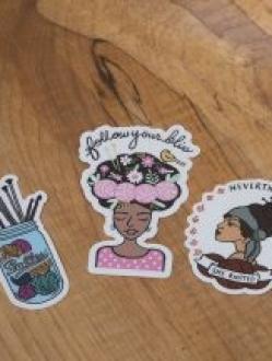 Nerd Bird Makery Stickers – 3 pack